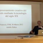 Procesamiento Creativo del Sonido 1990-2012 - Adolfo Núñez 300212