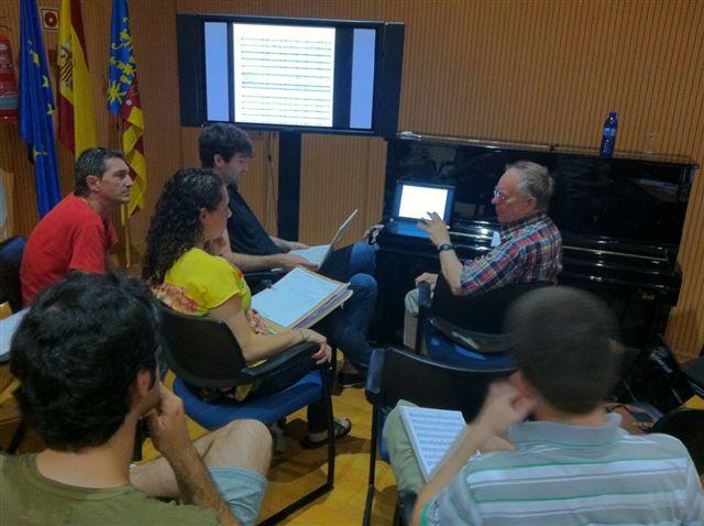 Curso Internacional Composición Balada 2012