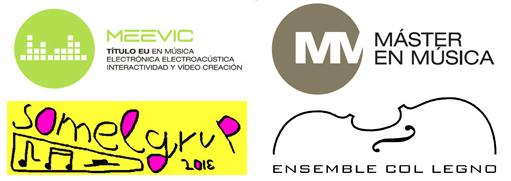Logos V Curso Internacional Composición Leonardo Balada UPV