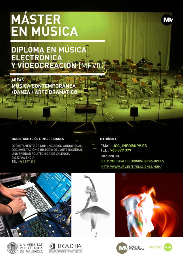 Máster Música - Diploma Música Electrónica - UPV