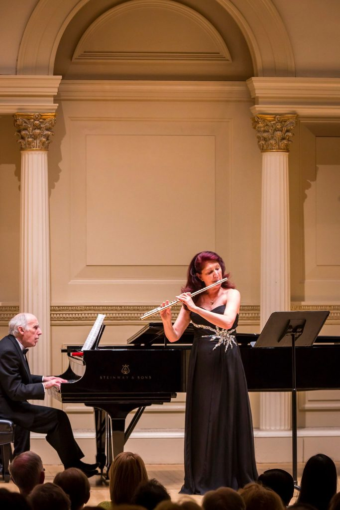 Luisa Sello Carnegie Hall New York, 18 abril. Imagen: Chris Lee